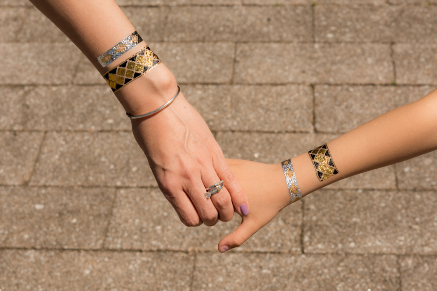 ROCK MAMA NYC LIFESTYLE BLOG - Metallic Temporary Tattoos