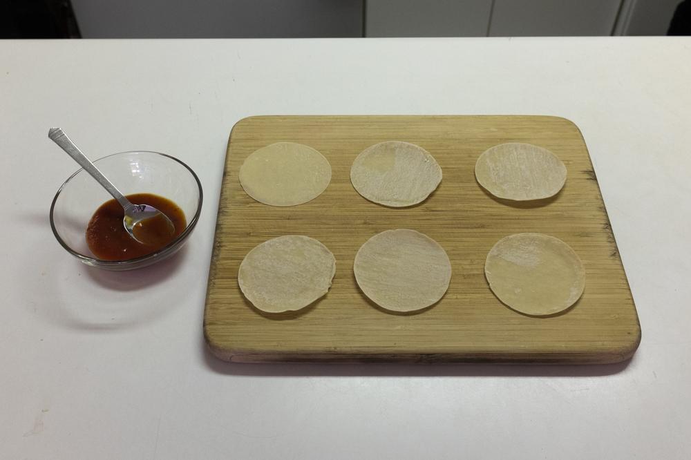 ROCK MAMA NYC LIFESTYLE BLOG -Gyoza Skin Pizza Recipe