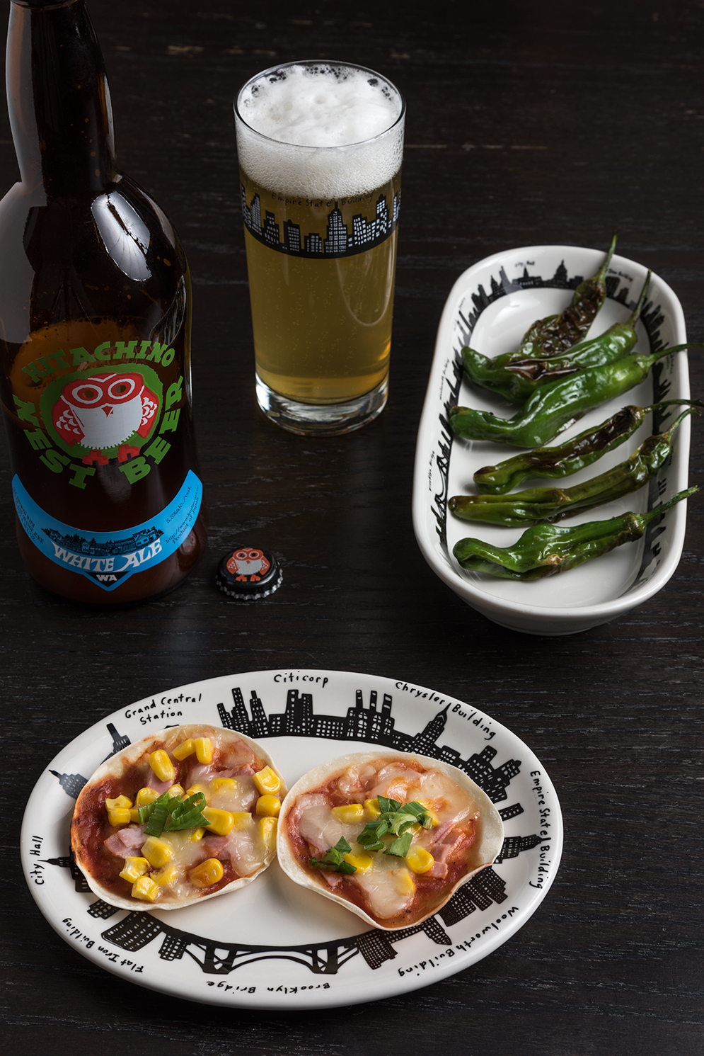 ROCK MAMA NYC LIFESTYLE BLOG - Gyoza Skin Pizza Recipe
