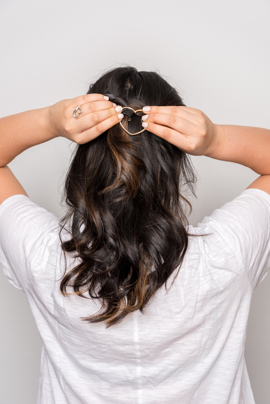 ROCK MAMA NYC LIFESTYLE BLOG -Super Easy 3minutes Hairstyle