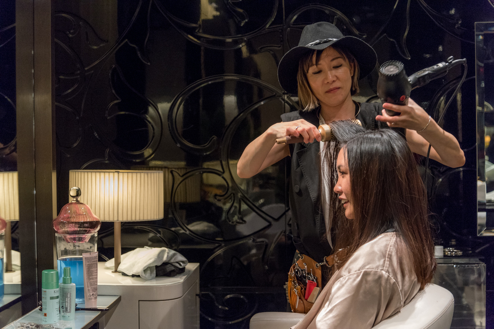 My Pop-Up Hair Salon In Kyoto