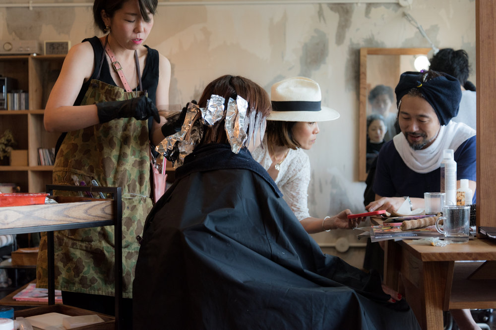 ROCK MAMA NYC LIFESTYLE BLOG-MY POP-UP HAIR SALON IN KYOTO JAPAN