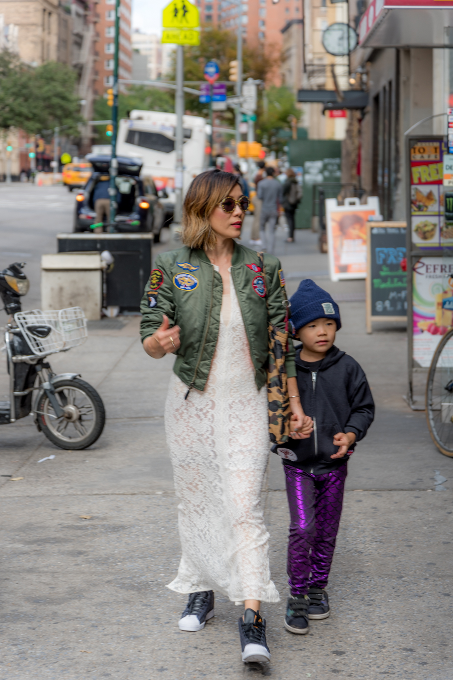 ROCK MAMA NYC LIFESTYLE BLOG-MOM AND SON MIX AND MATCH STYLING