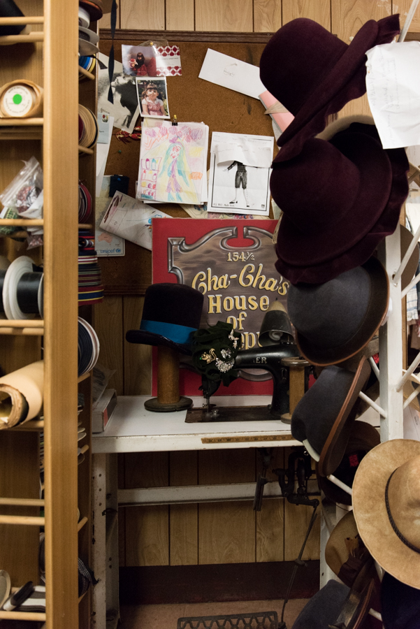 Super Cool Handmade hats In NYC -Cha-cha's House Of Ill Repute 4