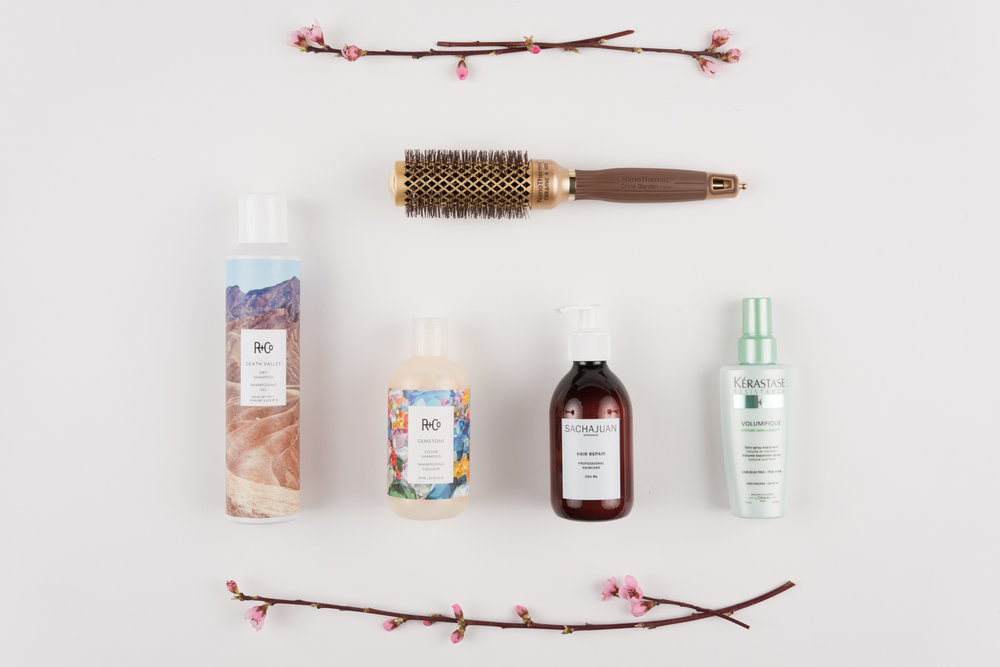 Five Must Have Hair Products For Spring 春ヘアに必要なものはこの子達!