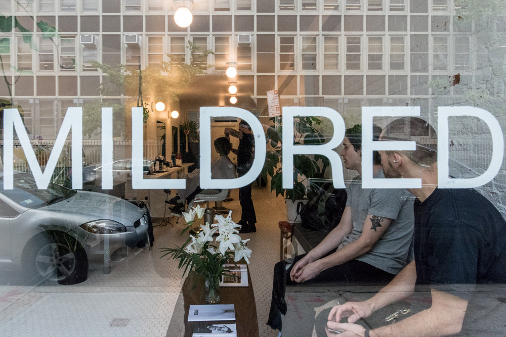 Cool Barber Shop In NY Mildred 大注目のカッコいいバーバーショップ In NY 2