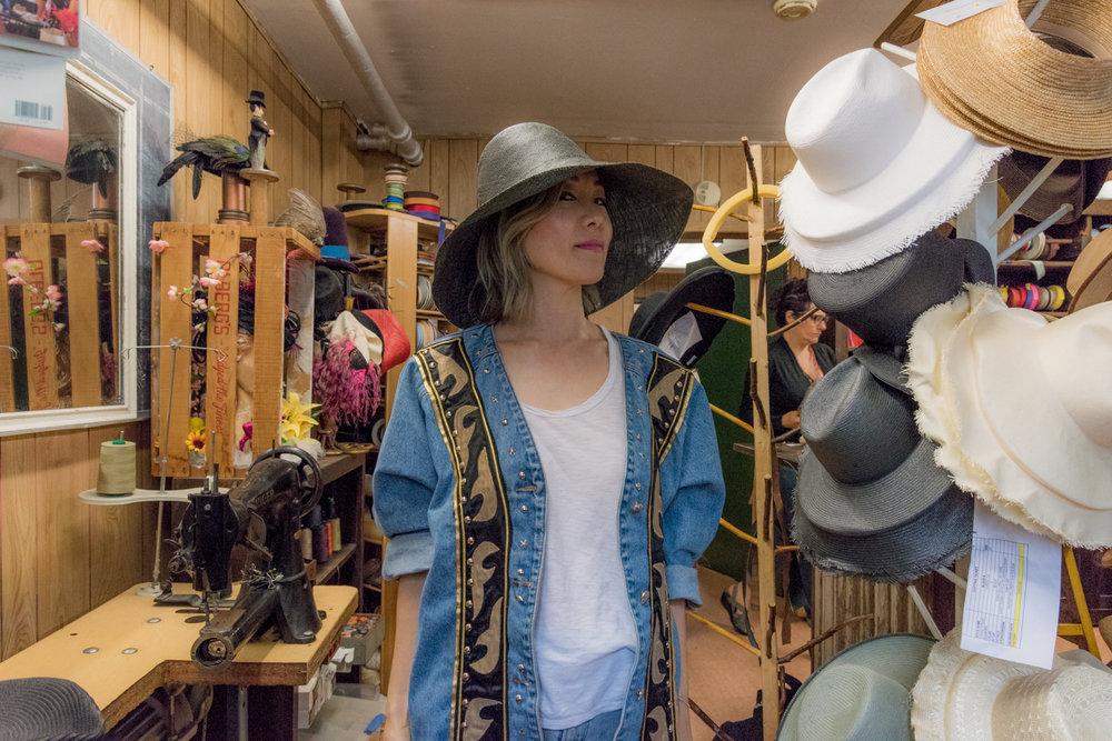 Custom Made Summer Hat At Cha-Cha House メイドインニューヨークオーダーメイドハット! 7