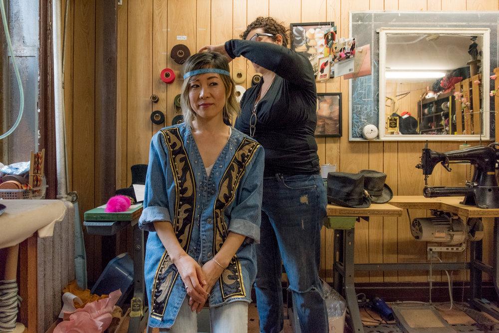 Custom Made Summer Hat At Cha-Cha House メイドインニューヨークオーダーメイドハット! 8
