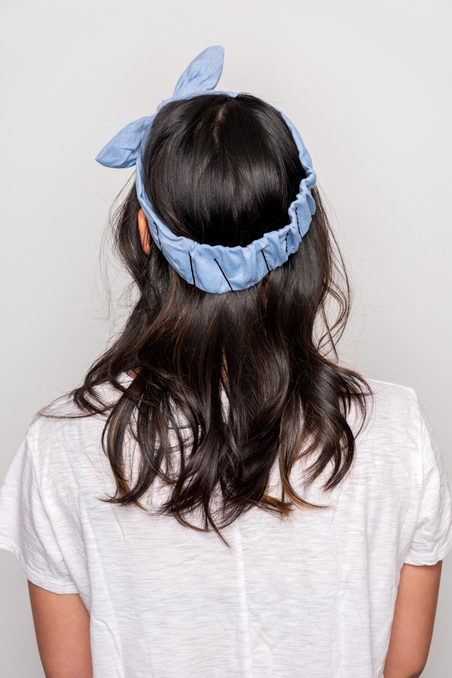 How To Do An Easy Headband Updo 夏にオススメの簡単ヘアアレンジ 4