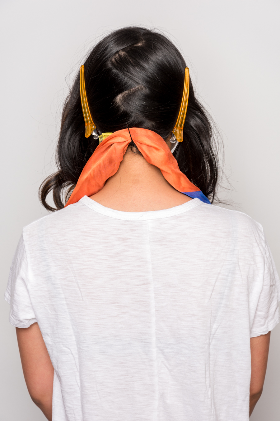 How To Use A Scarf For Stylish Summer Hair スカーフを使った簡単ヘアアレンジ 5