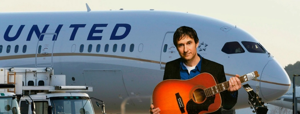 Songwriter Dave Carroll turned his consumer frustration into a protest video that shamed an airline into compensating him for his damaged guitar.