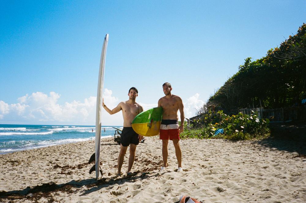 Chris Lew and Mark Bone, Dominican Republic.