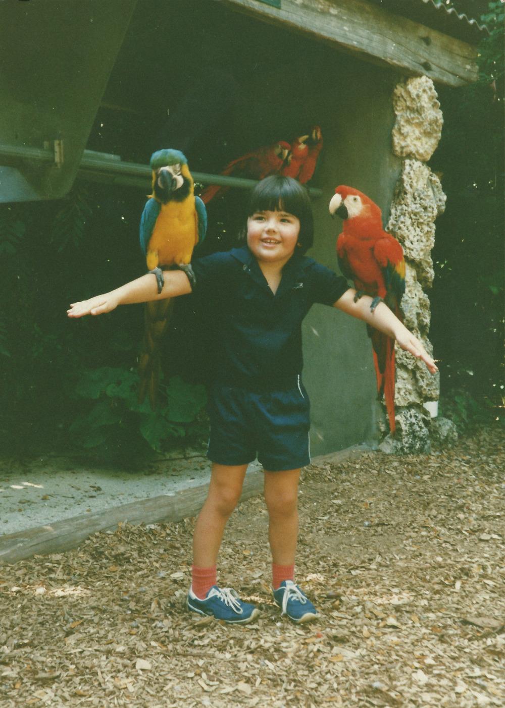#tbt Parrot Jungle. Miami, FL. 1988.