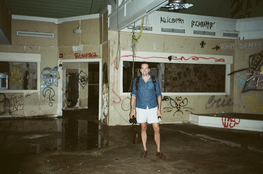 Abandoned beach hotel. Jensen Beach, FL.