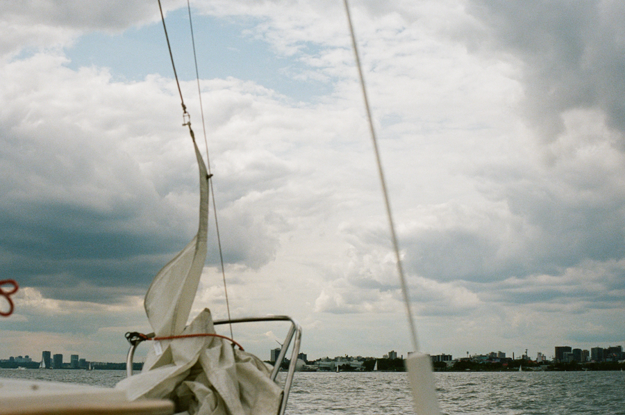 Sailing. Toronto Islands. August 2013. #kodak #portra #nikon #f100
