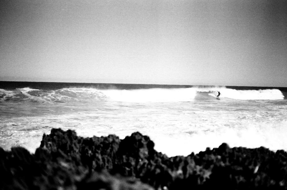surfer. hutchinson island, florida. #kodak #t-max #400