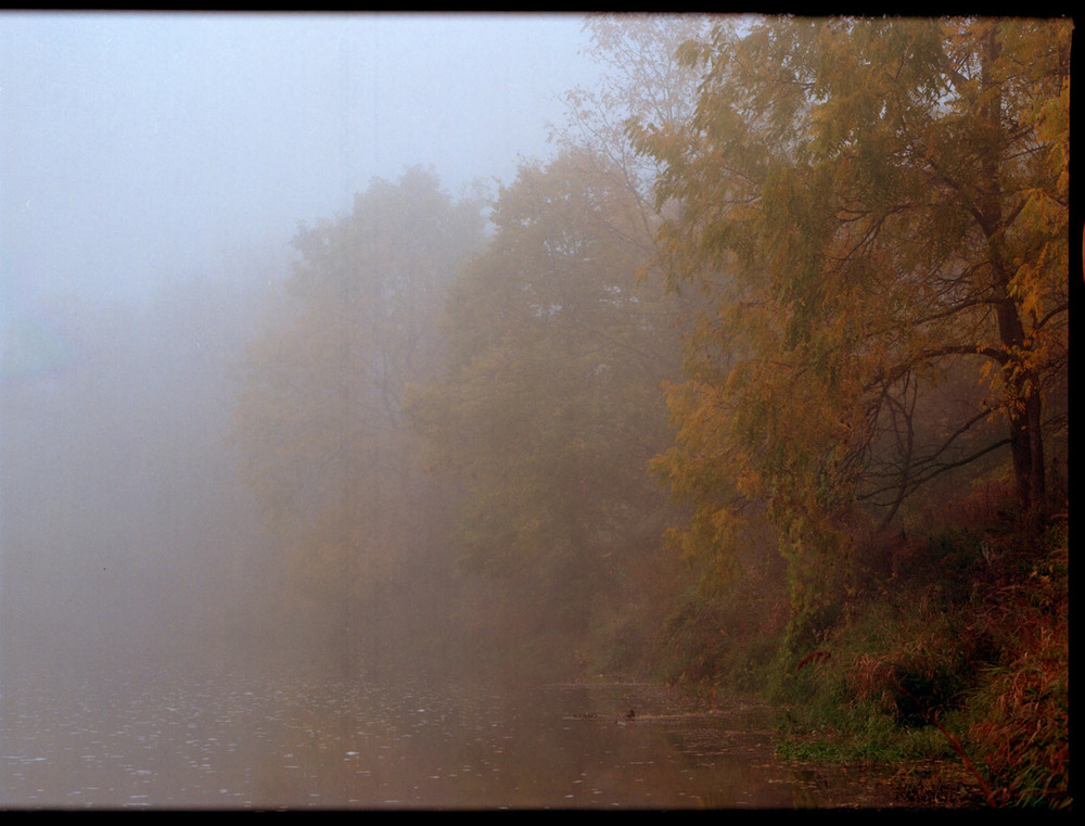 River mist. Mount Healy, ON.