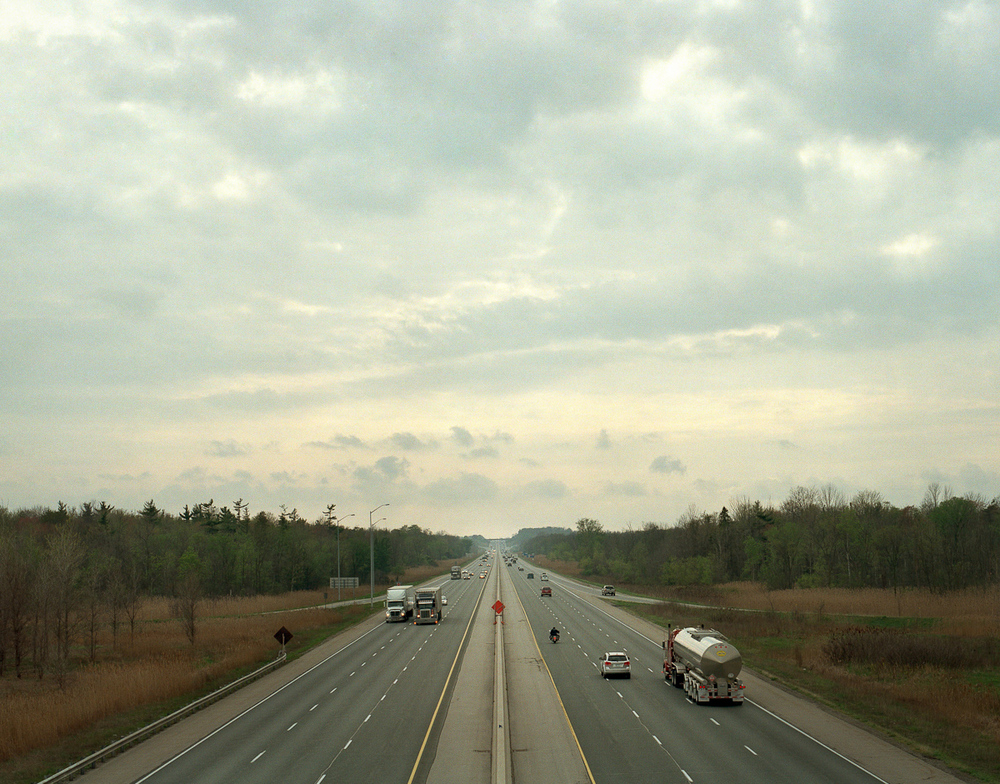Here's one for Jack Chambers. 401 towards London.