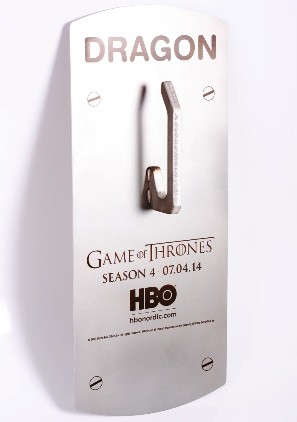 Lasergravering til HBO