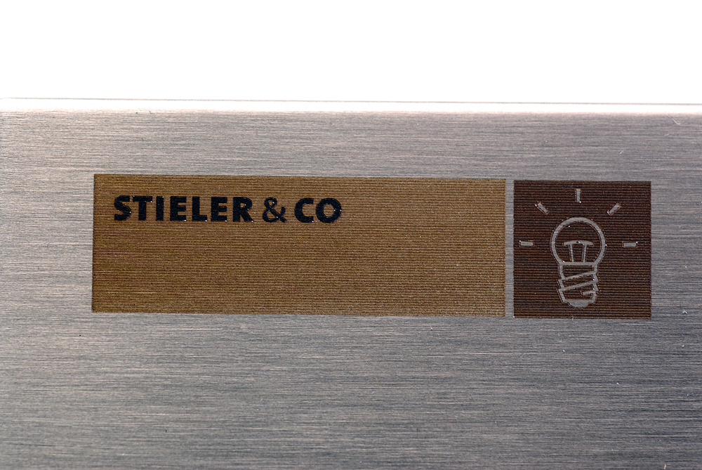 Lasergravering Stieler & Co