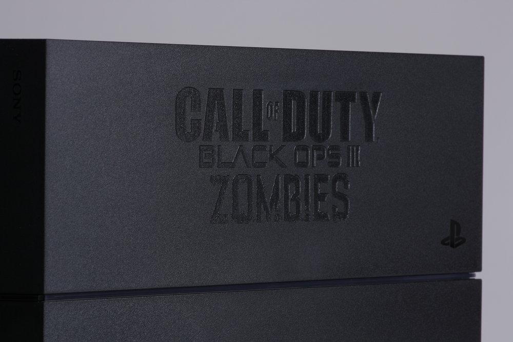 Gravering af elektrisk udstyr Call of Duty