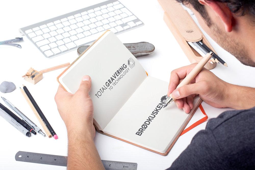 Logodesign og rentegning