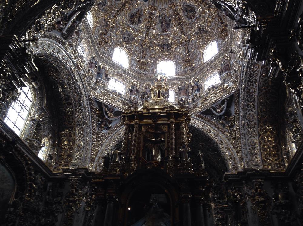 Capilla del Rosario, Puebla, 2014.
