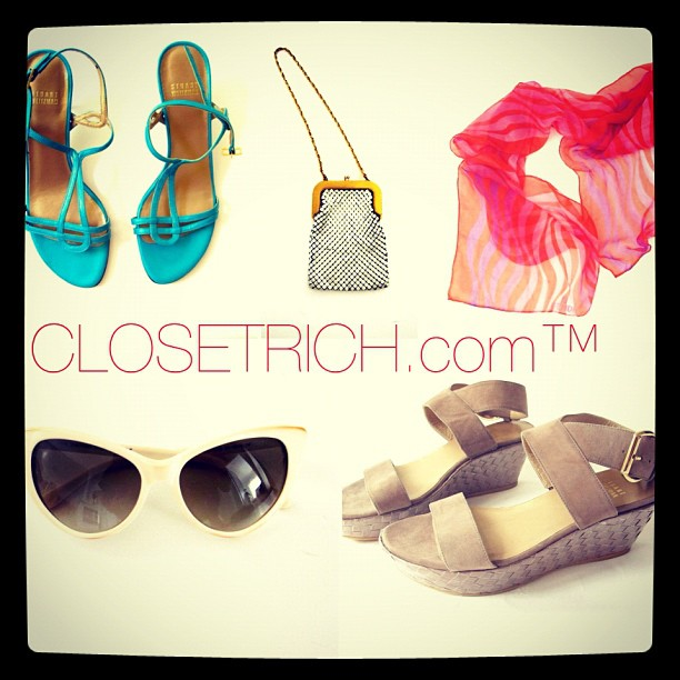 Accessorize on closetrich.com. Featuring: Stuart Weitzman, Tom Ford & Fendi. Oh my! (Taken with  Instagram )