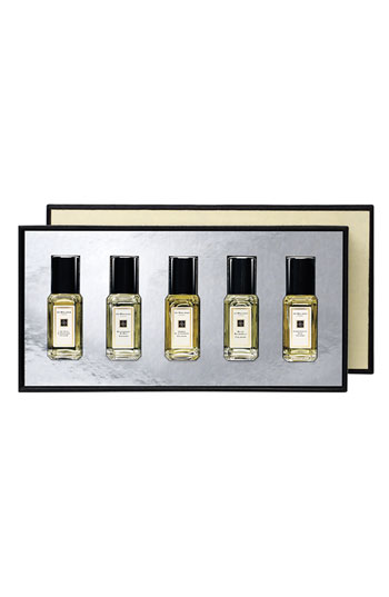 RICH Gift: Jo Malone  Cologne Collection .   Ok, here's the deal - as one who has serious commitment issues w/ all things, including scents, this is a total gift yourself score.   and if you feel like gifting others, this is equally economical and fab - split it up and give as little goodies for friends or wow em w/ the whole gift package shebang. win win win