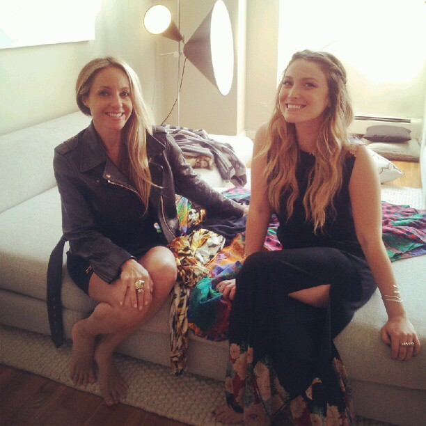 closet visit~ing and film~ing in NYC w/ the inspirational Gabrielle Bernstein