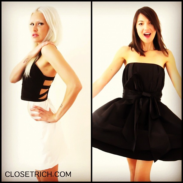 Double the @alice_olivia fun today on www.closetrich.com (Taken with Instagram)