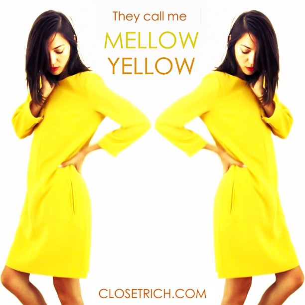 The mellowist of @rag_bone frocks now available on www.closetrich.com💛☀🌼🐤🔥🌟