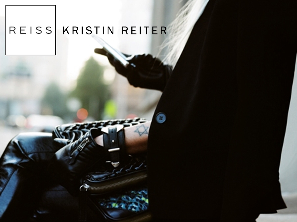 Our talented model Kristin Reiter was featured on Reiss.  Closet Rich loves you! (Photo:  Chris Cuneo | Reiss)