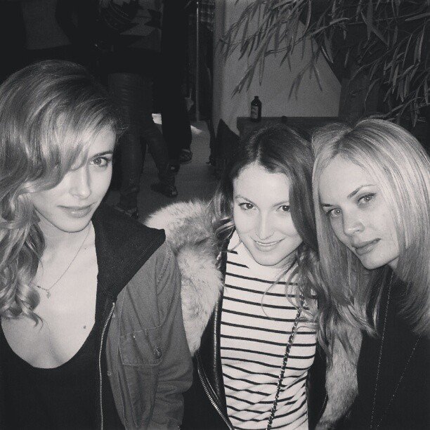 Babes in Tomsland: TOM's Store opening last night in Venice.     GZ ,  EK ,  KP