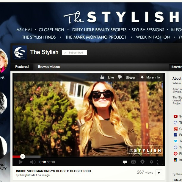 Up up and away! In honor of today's premiere on @_thestylish. You get $5 off on closetrich.com w/ promo code: stylish 😎👠💸