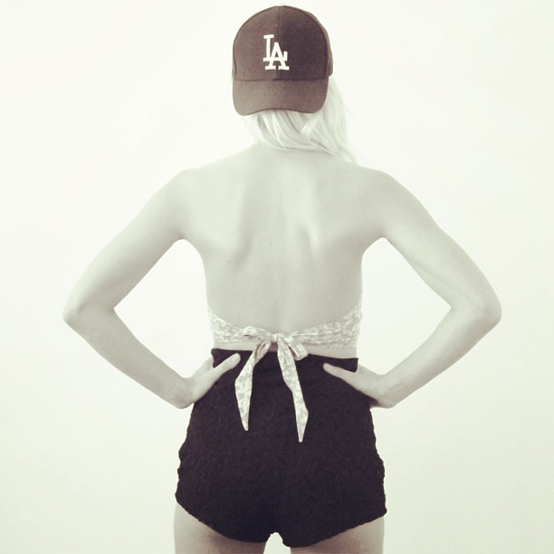 Vintage Halter and Lindsey Thornburg X Reformation Shorts Available Soon.  closetrich.com