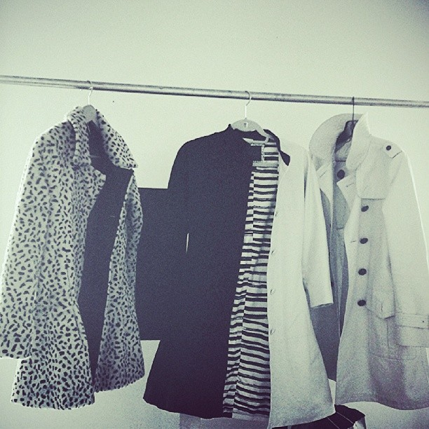 Furry. Black and white. Classic fit. Jackets, we are talking about jackets. http://youtu.be/NcsMglgQH_U