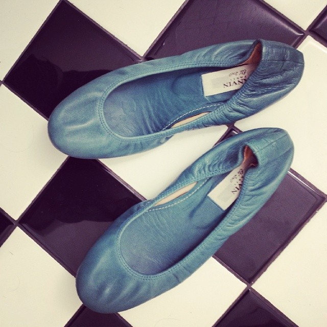 Blue is the warmest color. #lanvin flats, great condition. Sz. 37, $160. Buy@closetrich.com