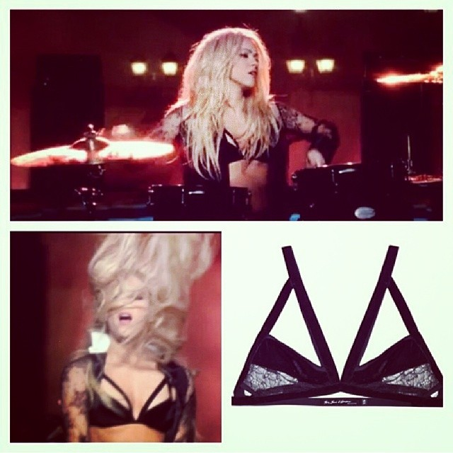 Ay papi. @forloveandlemons bondage bralette as seen on @Shakira ♥ <avail. on closetrich.com, sz. M, NWT, $60 > #regram #