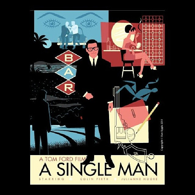 Our next Fashion Cinema Screening with Soho House will be Tom Ford's A Single Man on 2/28. #tomfordt < illustration by #dansipple>