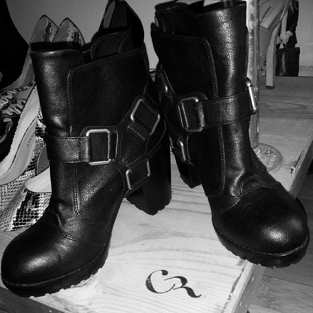 Are you ready boots? Dolcetta by Dolce Vita Harness Booties, sz 7. Never Worn. Orig. $98. #closetrich price. $75. #omgshoes #boots #shopping #doit  www.closetrich.com