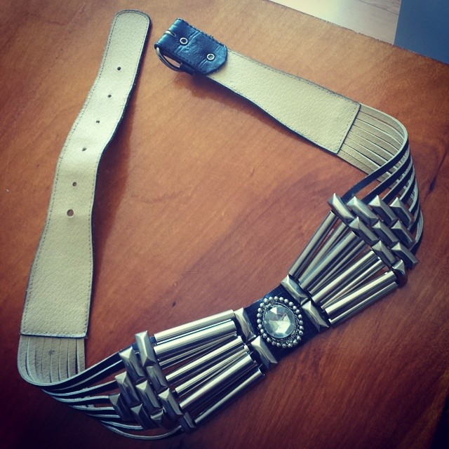 Vntg belt just arrived! #swoon ($68) (at El Pollo Loco)