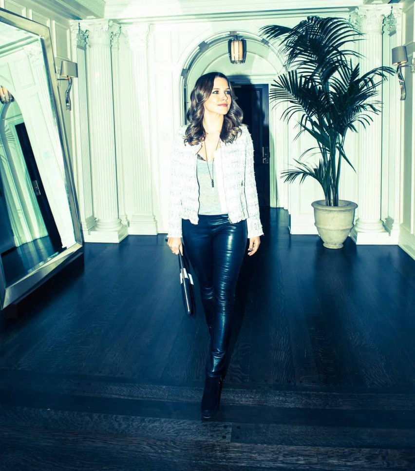 Covet Worthy: Sophia Bush on The Coveteur. ps. love the p&c boots and falling whistles combo!