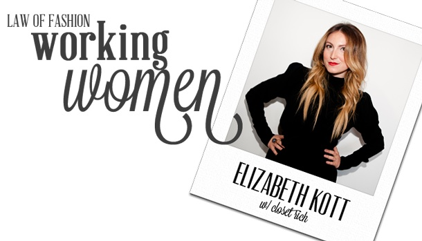 CR founder Elizabeth Kott joins the ladies behind  Pose ,  Beachmint ,  I AM THAT GIRL,   Thatcher  and  StyleHaul   for  Law of Fashion 's Working Women Series. Hope it inspires the fellow entrepreneurs + hustlers out there to keep at it!