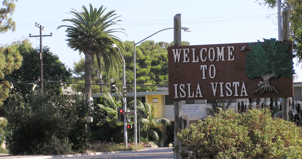 Welcome To Isla Vista Sign.png