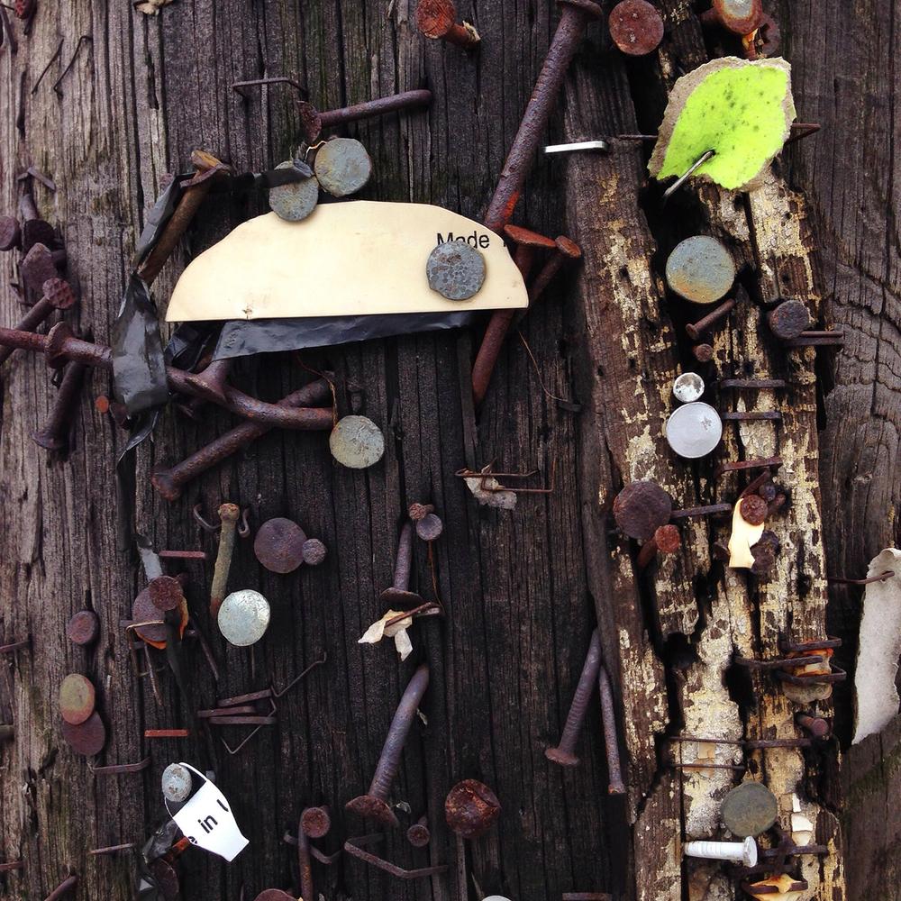 Utility pole, Girard #frommybike