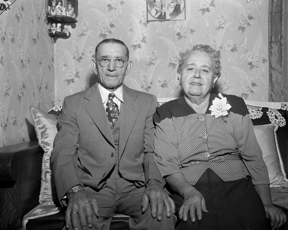 Frank and Christine Bender, 2157 S. Seventeenth St., were born in Austria. Frank emigrated to the United States in 1904, and Christine the following year. They married in Pennsylvania on Sept. 9, 1905 and moved to Springfield three years later. In addition to being a coal miner, Frank was a musician who played in the Capital City Band and the Illinois Watch Company band. In his youth, he played in the Austrian army band.
