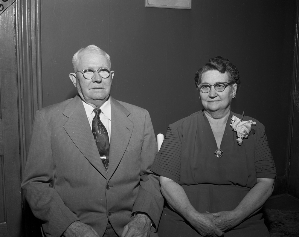 Anniversary portrait, May 3, 1954