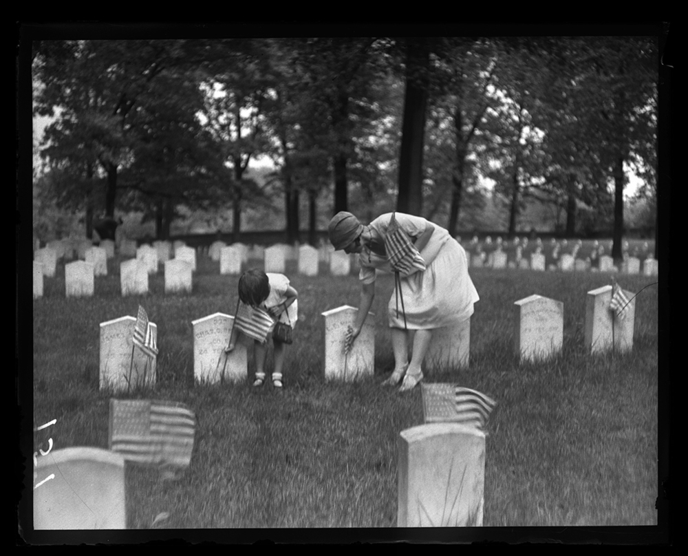 Memorial Day at Camp Butler National Cemetery, May 30, 1929. File/The State Journal-Register