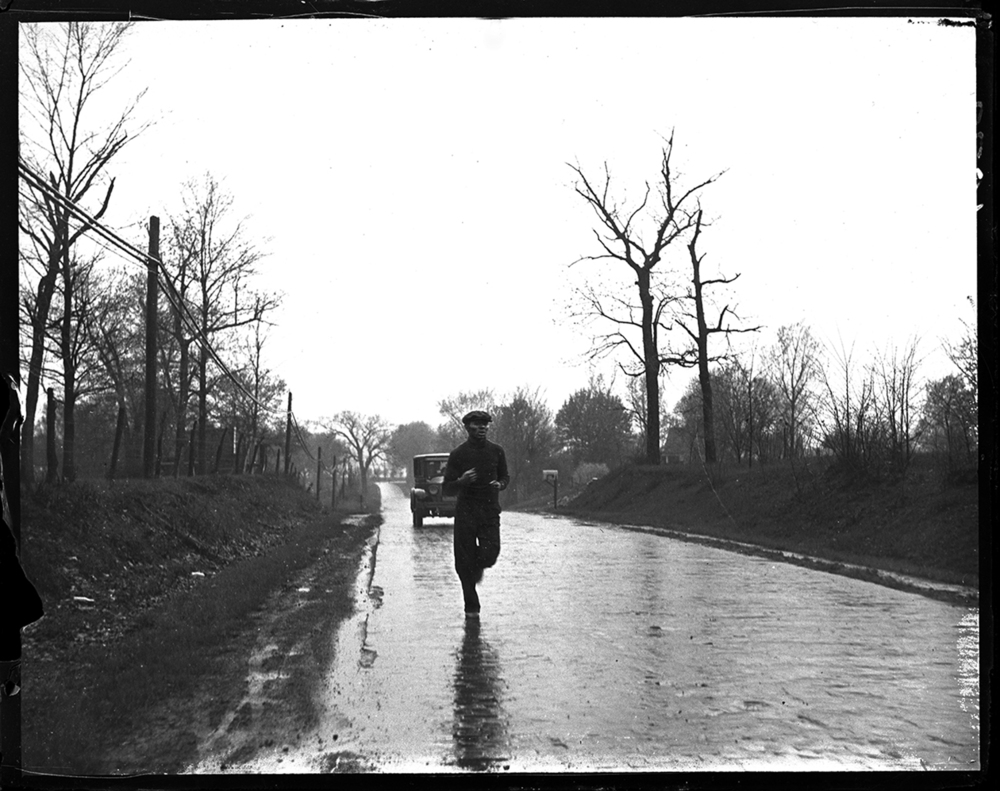 Man jogging, date and location unknown. File/ The State Journal-Register